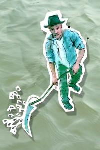 Illustratie waterschap Remco de Kluizenaar