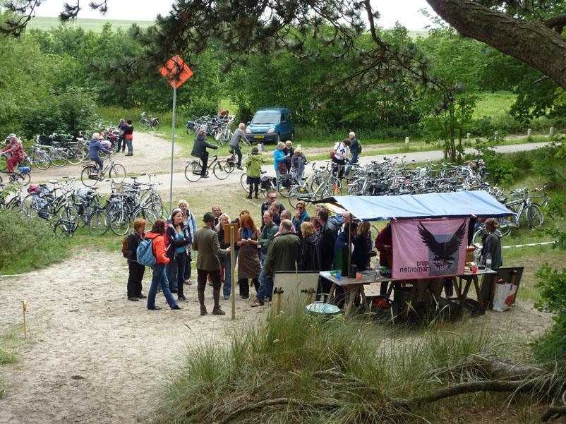De Vereniging Natuurmomenten trekt 10000 bezoekers bij Oerol 2011