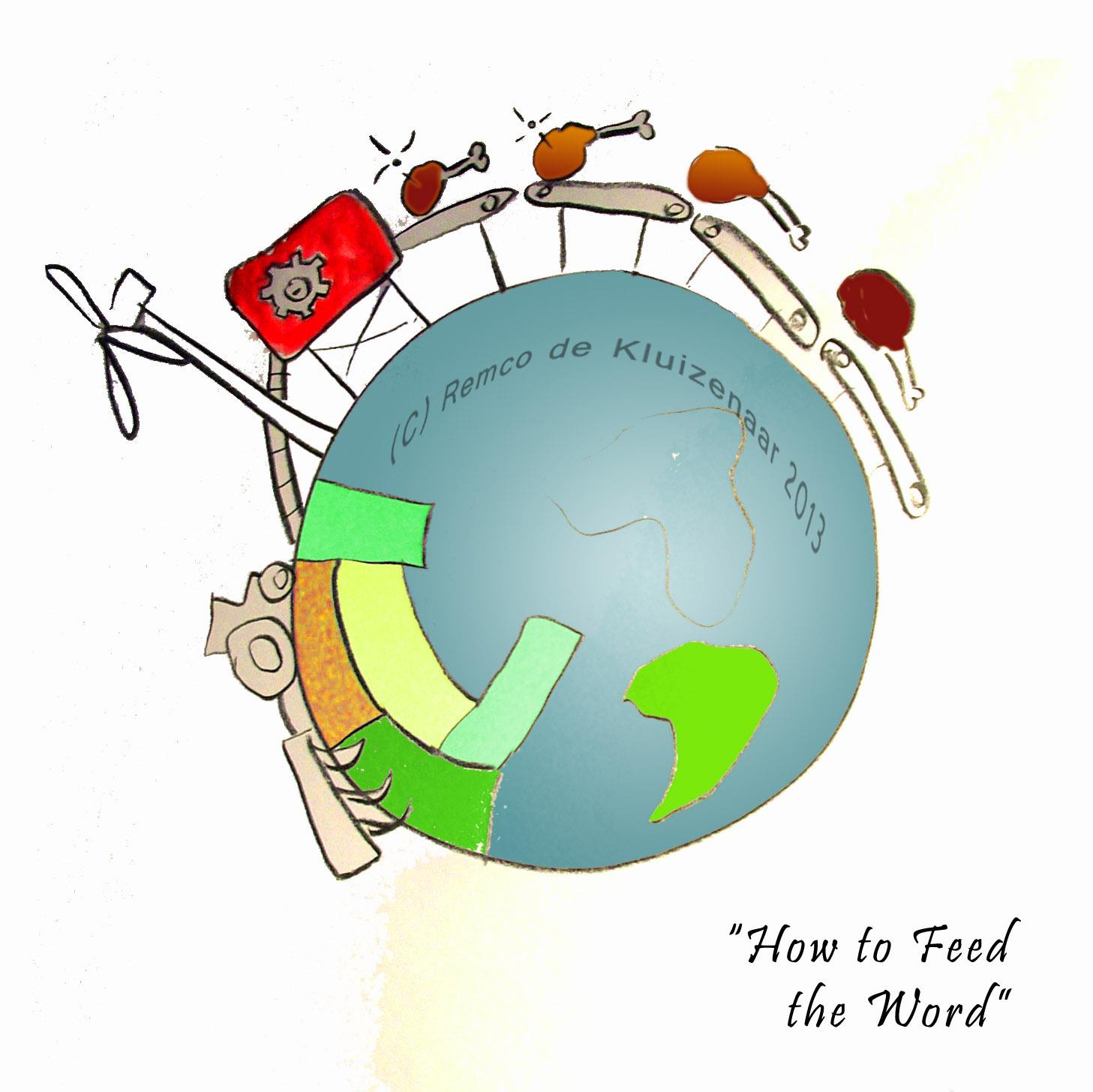 Het centrale dilemma in mijn ogen: wil de wereld vlees eten, hoeveel landbouwgrond is er dan nodig? Als de bevolking toeneemt en de wereld voor duurzame energielevering ook landbouwgrond nodig heeft (bijvoorbeeld voor bio-ethanol), dan vraagt dat om goede nieuwe ideeen en waarschijnlijk ook gedragsveranderingen in eetgedrag. De kippenpotenfabriek als beeld van zorgeloos vlees eten, zonder te kijken waar het diervoer aan de andere kant van de wereld vandaan komt. (zuidamerika hier geaccentueerd omdat daar door hogere welvaartsstandaarden de behoefte aan vlees toeneemt)